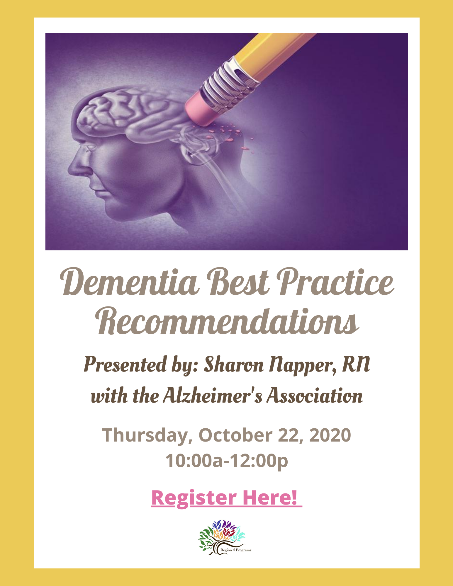 Dementia-Best-Practice-Recommendations-presented-by-Sharon-Napper-RN-with-the-Alzheimers-Association