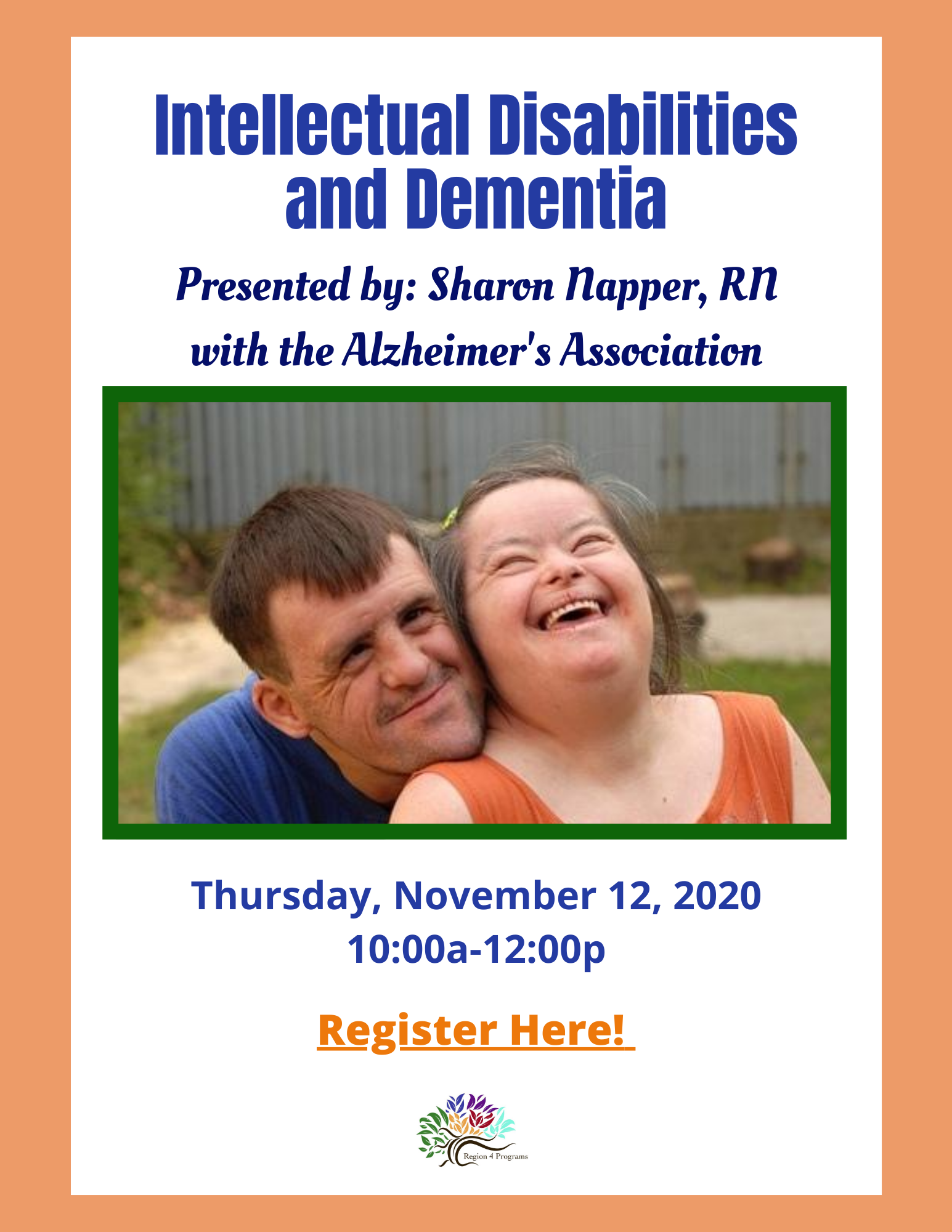 Intellectual-Disabilities-and-Dementia-presented-by-Sharon-Napper-RN-with-the-Alzheimers-Association